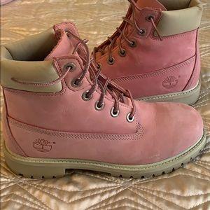 Blush Pink Timberlands